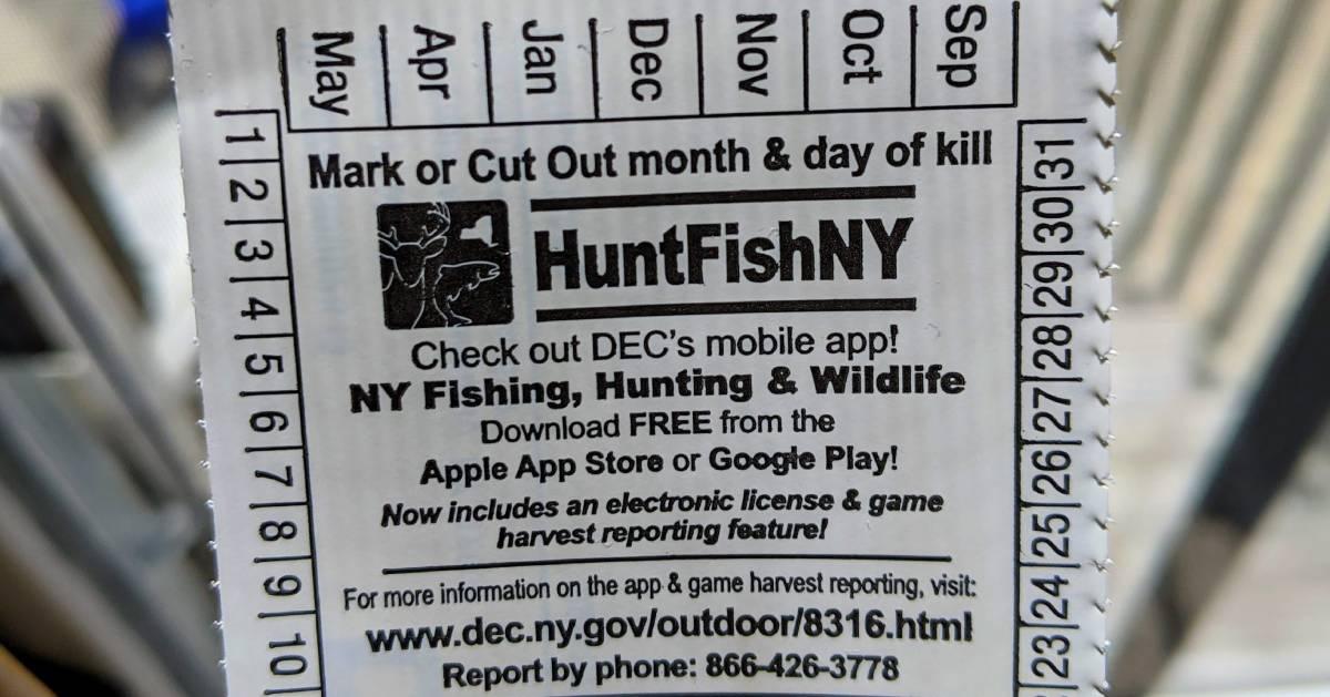 part of a fishign license