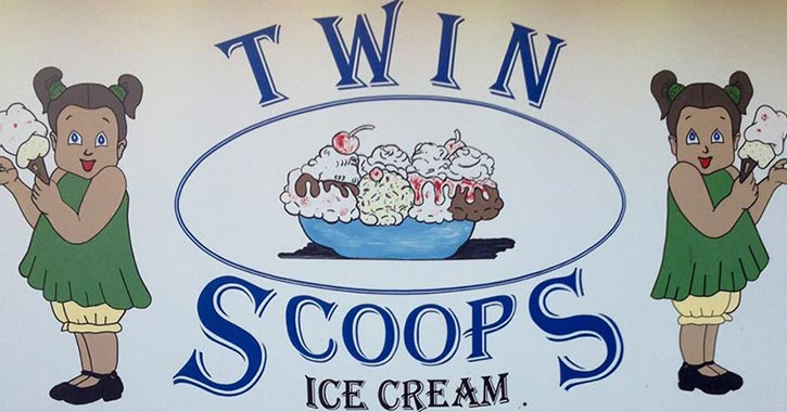 twin scoops logo