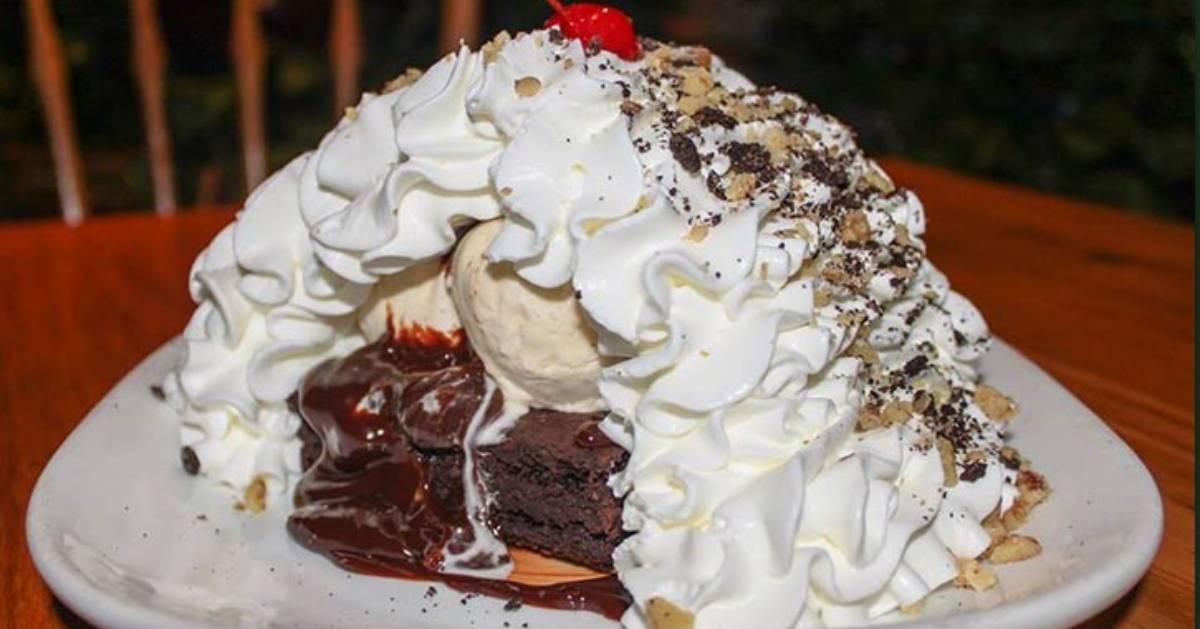 ice cream brownie