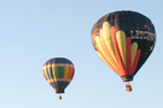 Hot Air Ballooning in Lake George