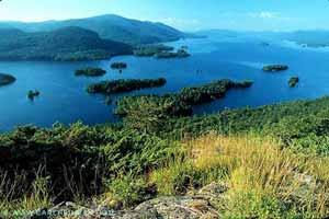 View of Lake George