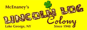 McEnaney's Lincoln Log Colony logo