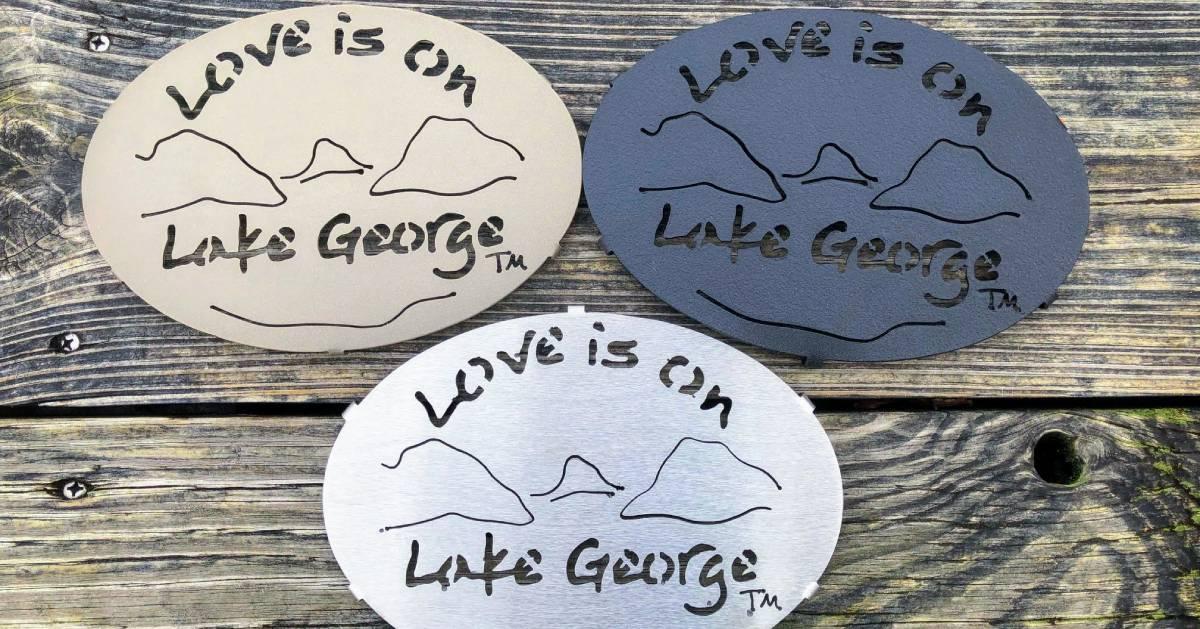 Lake is on Lake George trinkets