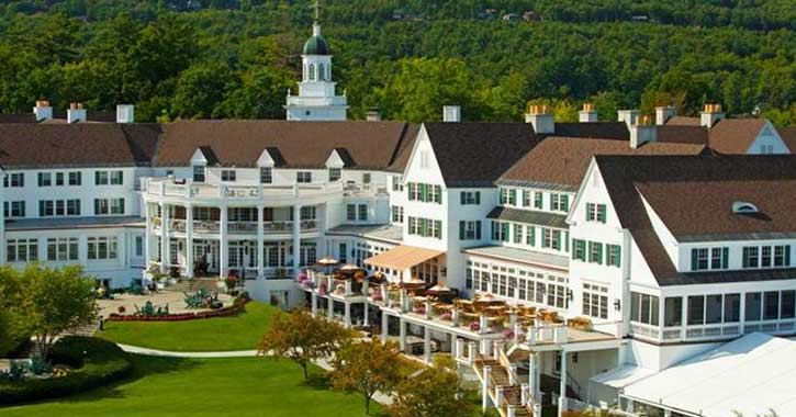 Exterior of sagamore resort