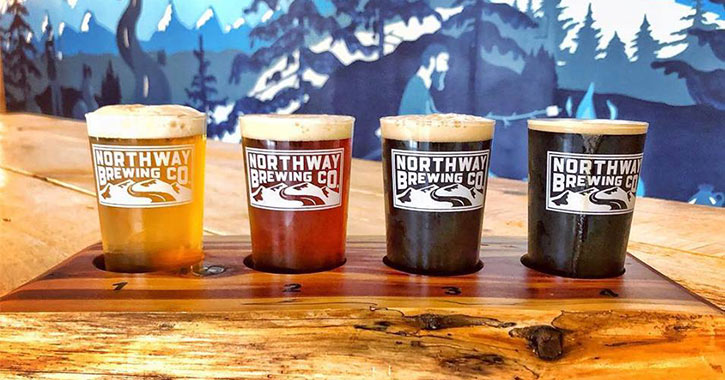 northway brewing company flight