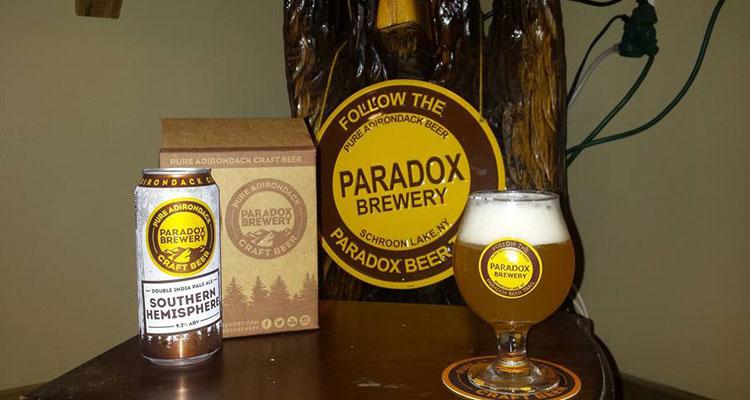 beers at paradox brewery