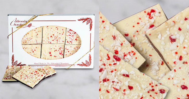 pieces of peppermint bark