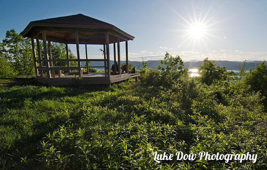 view of pilot knob gazebo