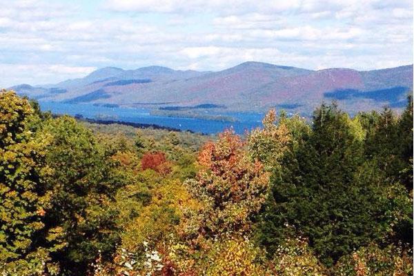 prospect mountain fall view