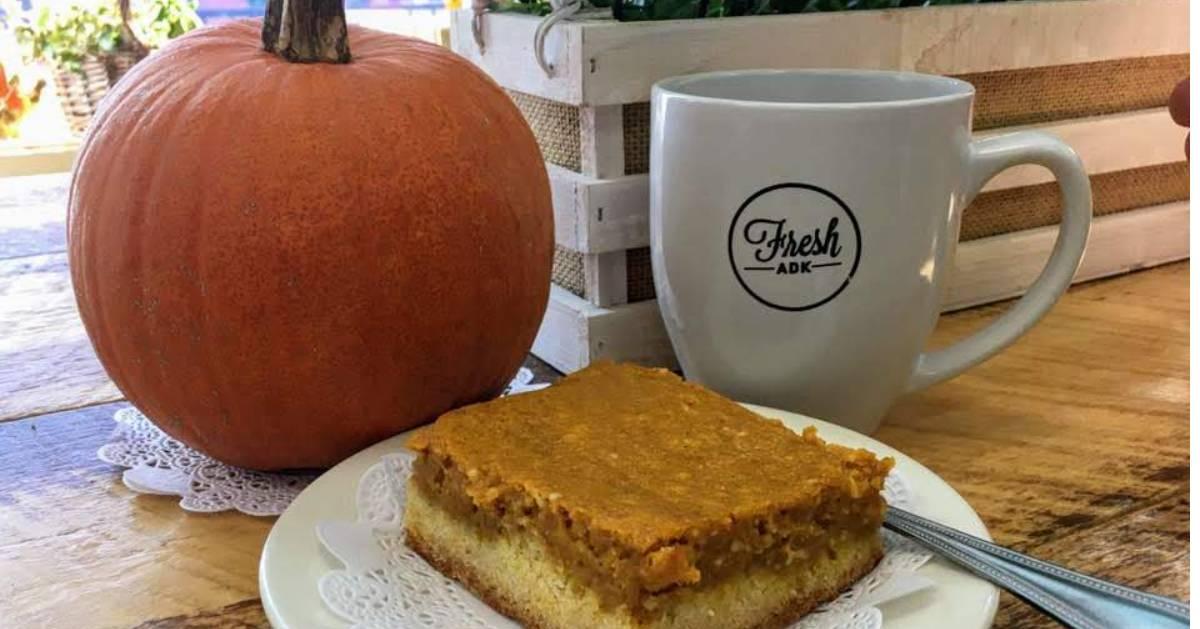 pumpkin, mug, and pumpkin square