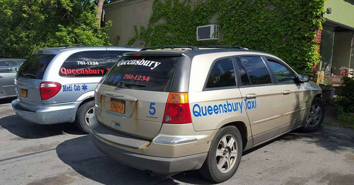 a queensbury taxi