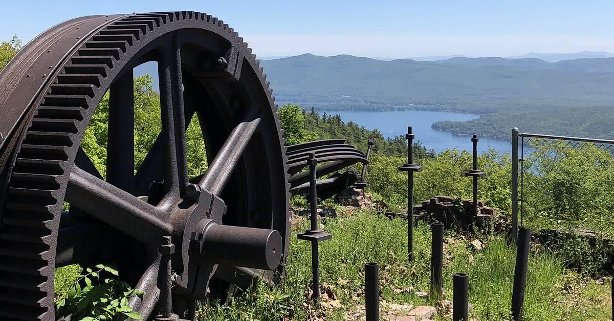 railroad remains on summit