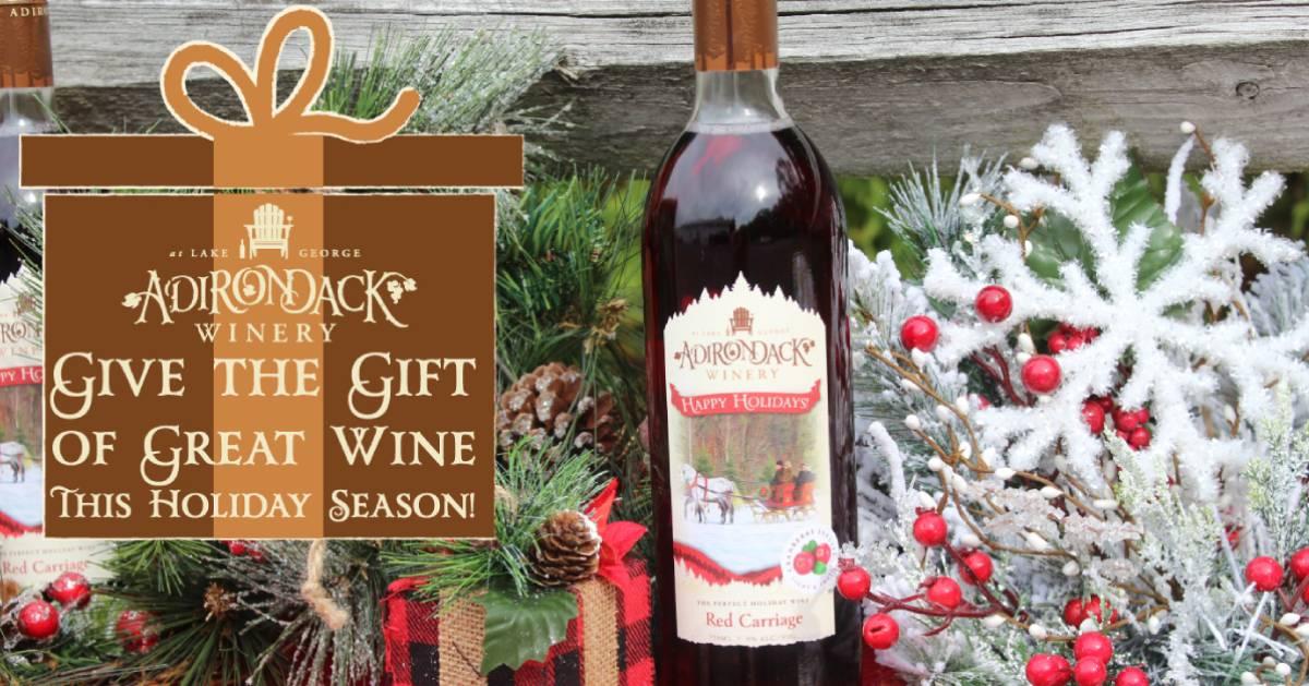 Adirondack Winery's holiday cranberry wine