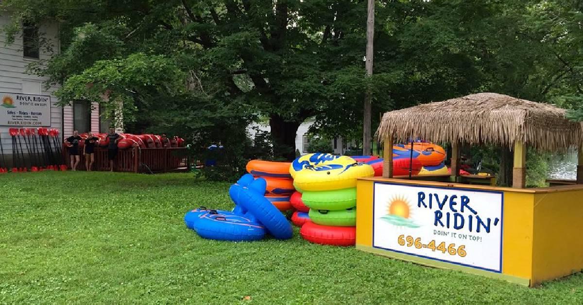 River ridin' stand
