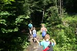 Family Hiking Trail in Lake George, NY