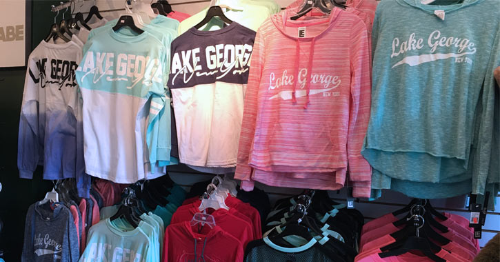lake george sweatshirts