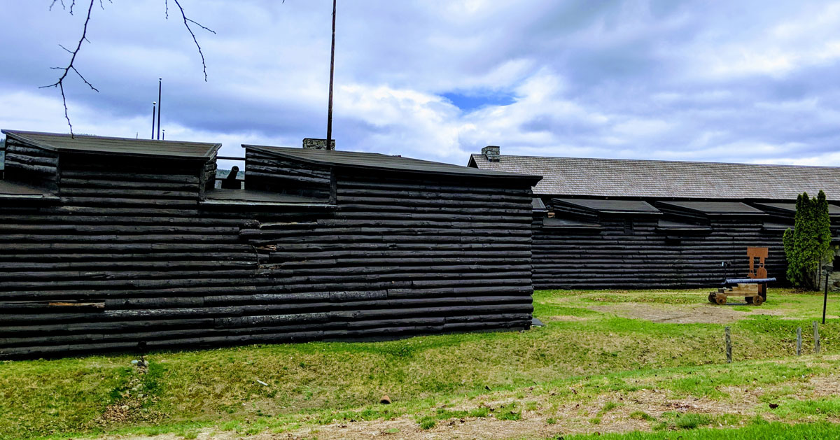 side of fort