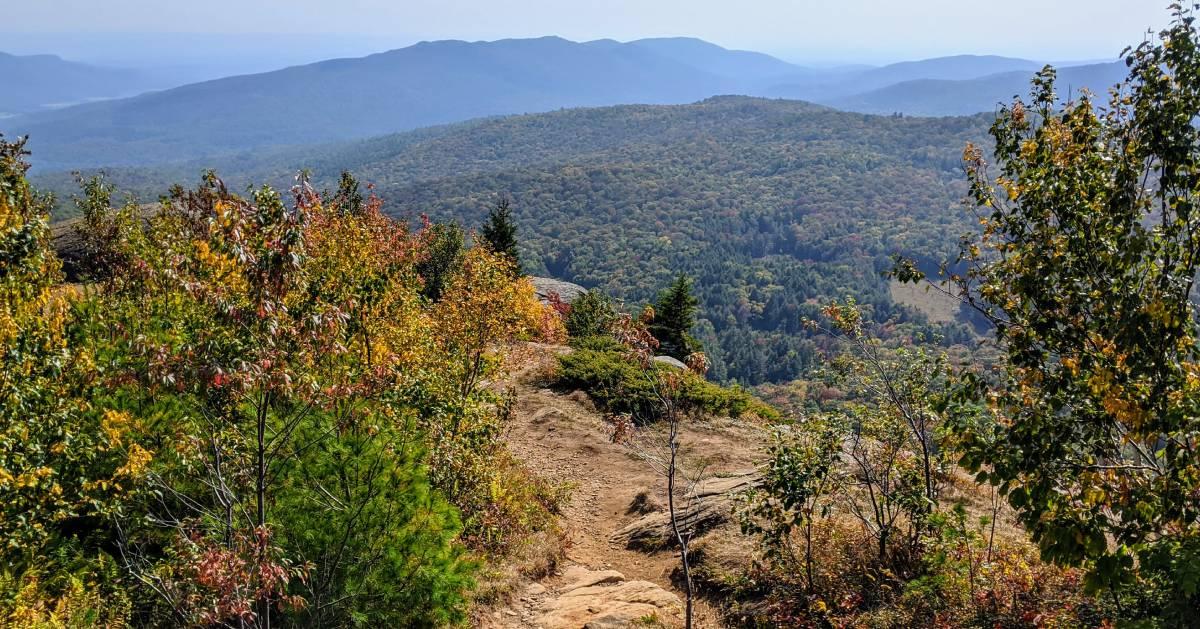 mountain summit fall