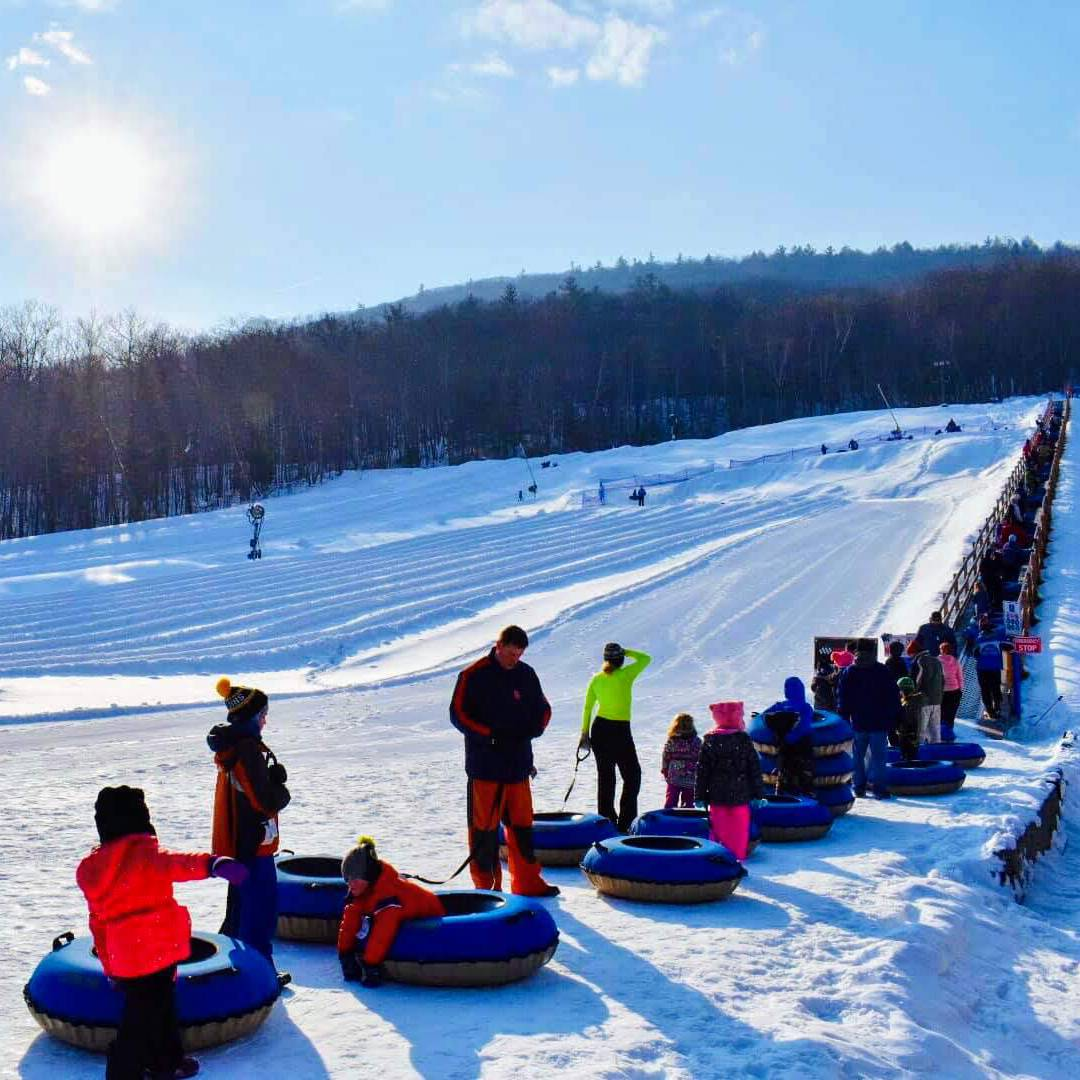 Try These Snow Tubing Sites in the Lake George Region