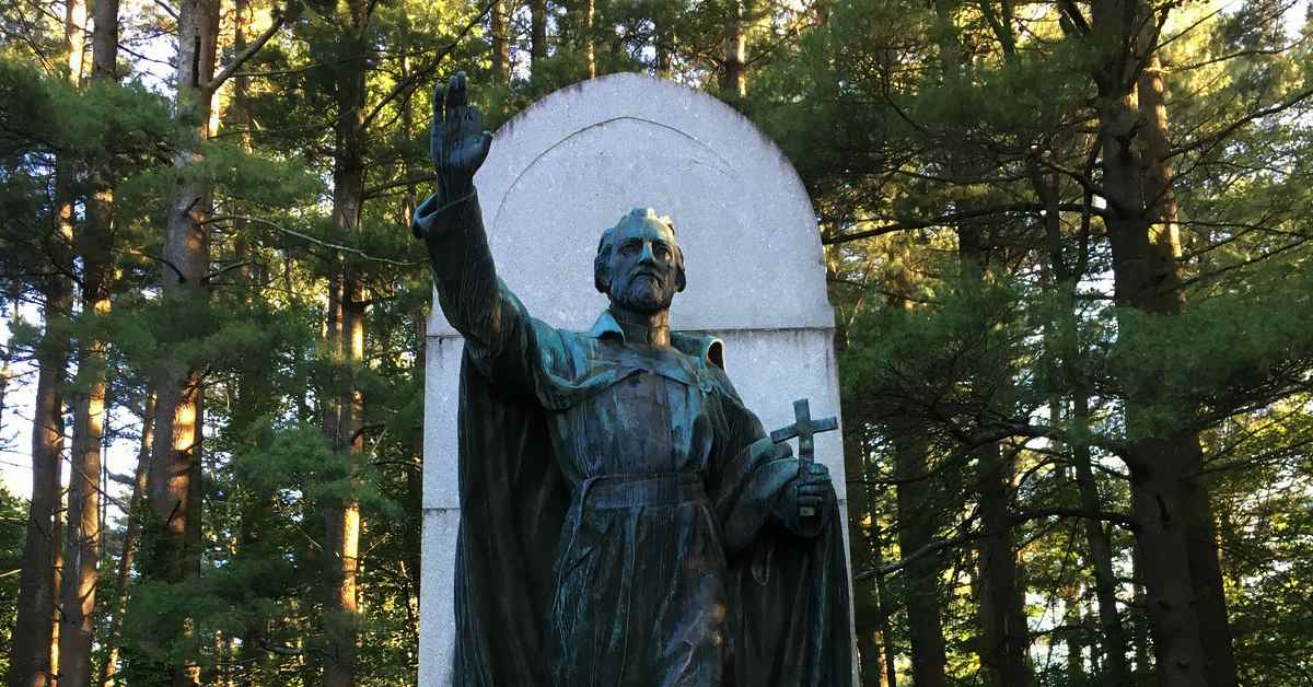 statue of st isaac jogues