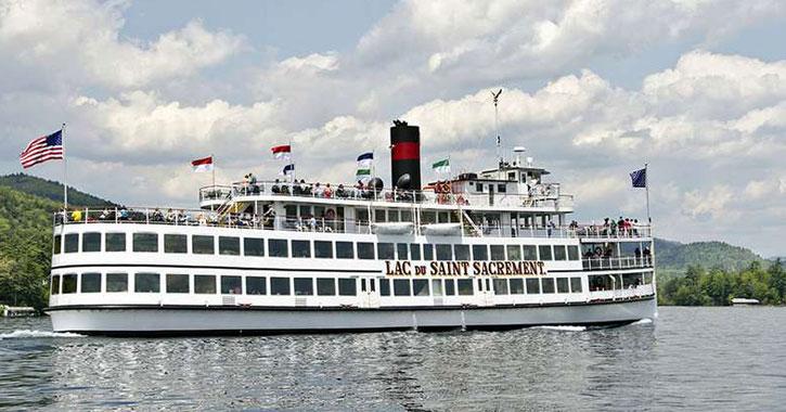 lac du saint sacrement steamboat