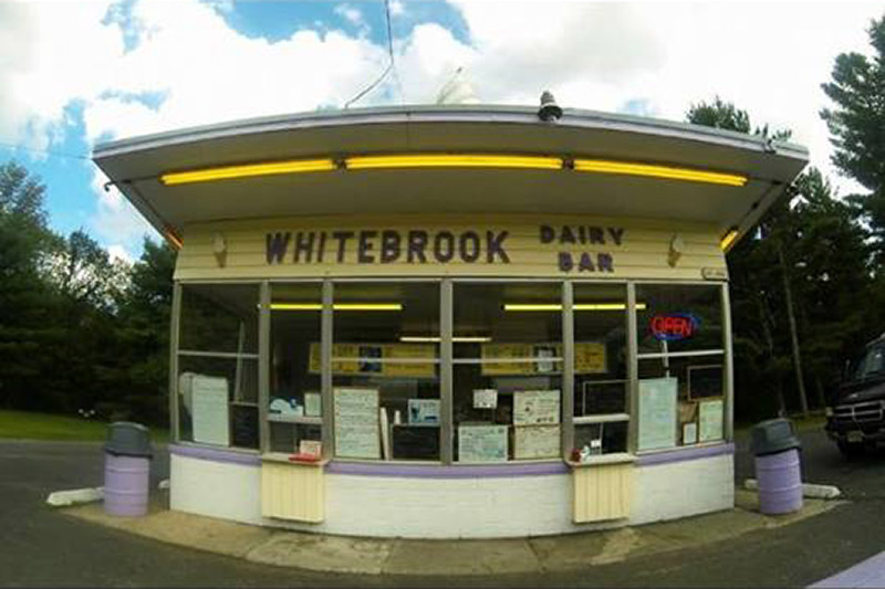 panoramic view of whitebrook dairy bar