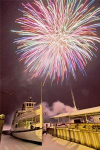 lake george winter carnival fireworks