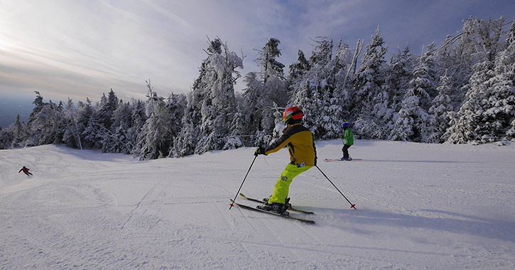 people skiing at gore mountain