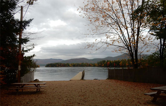 lake george fall