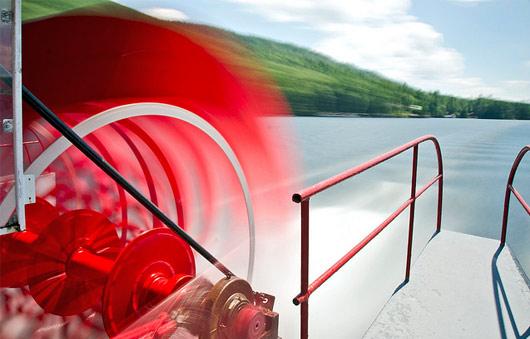 boat paddle wheel