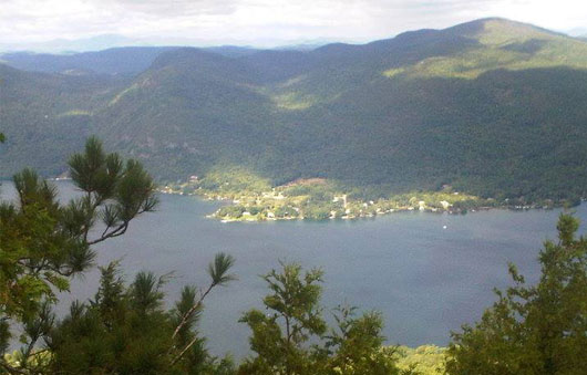 lake george hiking