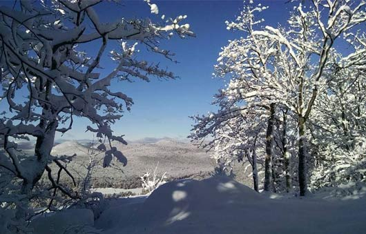 winter in lake george