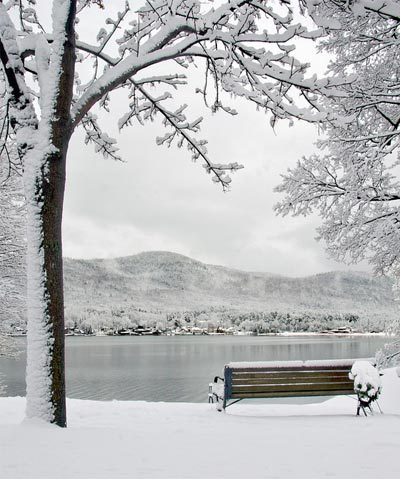 lake george winter