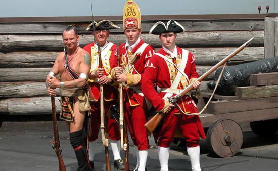 Fort William Henry Reenactors