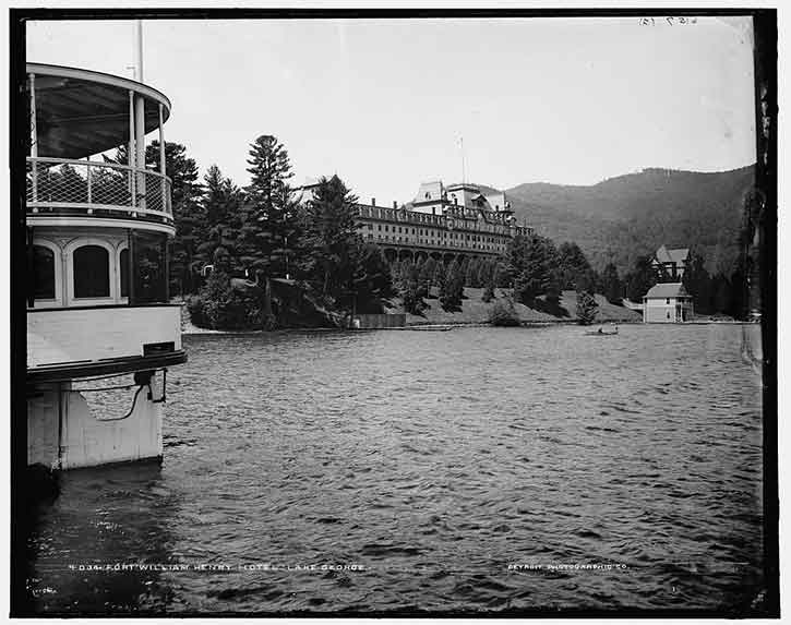 Historic photo of Fort William Henry
