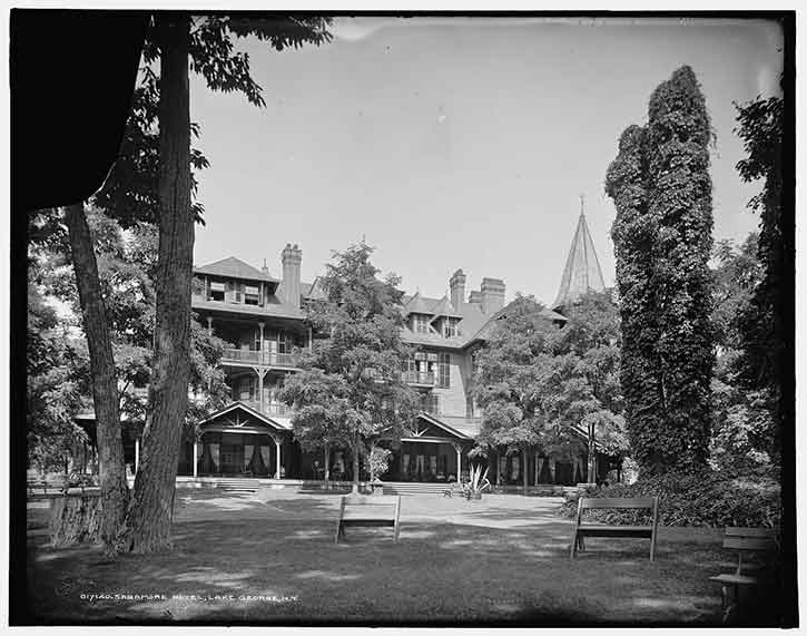 Historic photo of The Sagamore in Bolton Landing