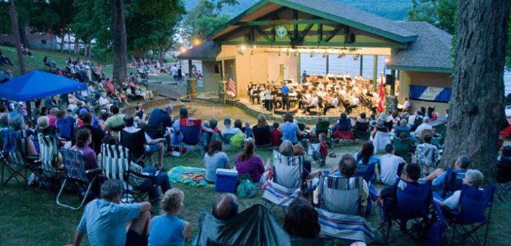 lake george community band at shepard park