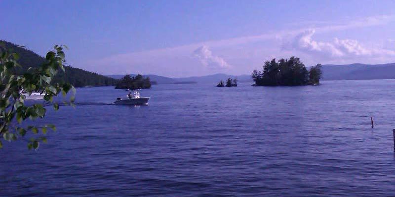 Log Bay, Lake George, Photo credit: Alan Nudi