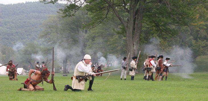 reenactment battle