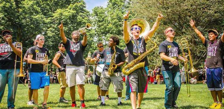 Funky Dawgz Brass Band, photo provided