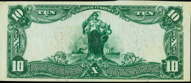 lake george bank note back side