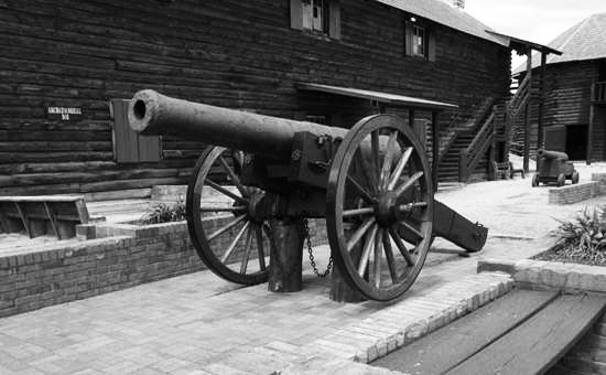 cannon at fort william henry