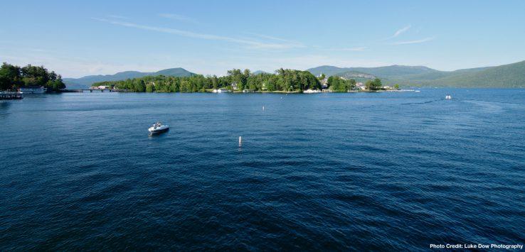 beautiful lakes panorama