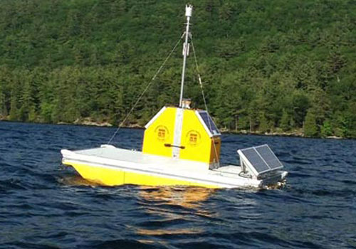yellow-sensor-platform-on-lake