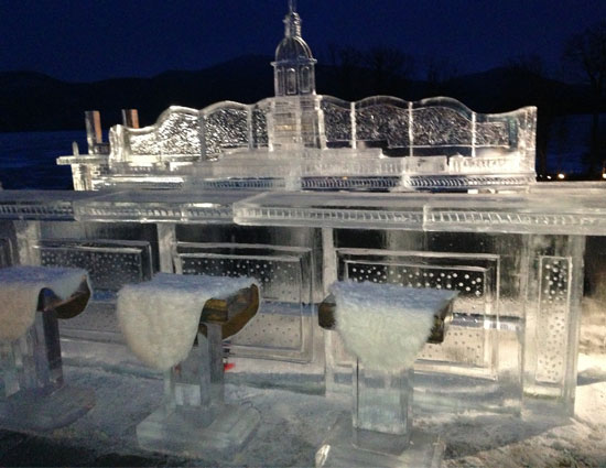 old ice bar at the sagamore