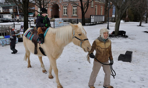 winter carnival pony rides