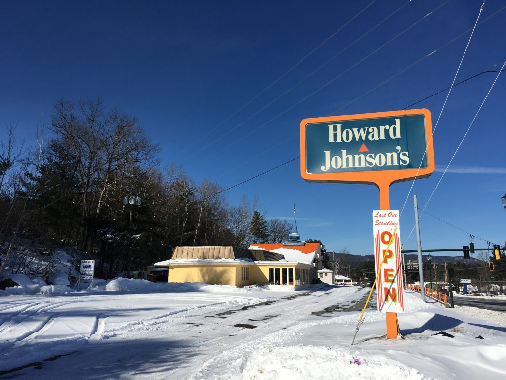 Howard Johnson's Restaurant in Lake George