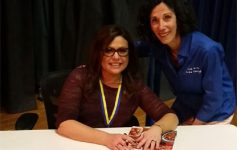 rachael ray at signing