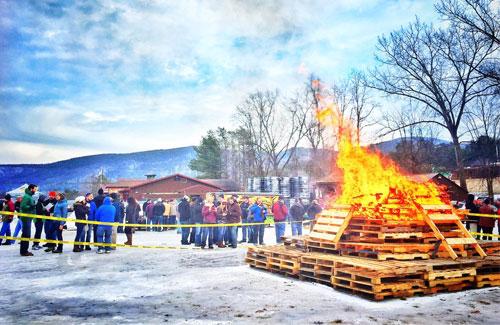 burning man barrel fest