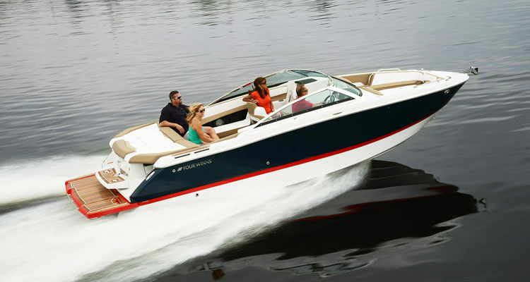 boating on lake george